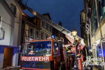 Bäckerstraße: Feuer in Mehrfamilienhaus