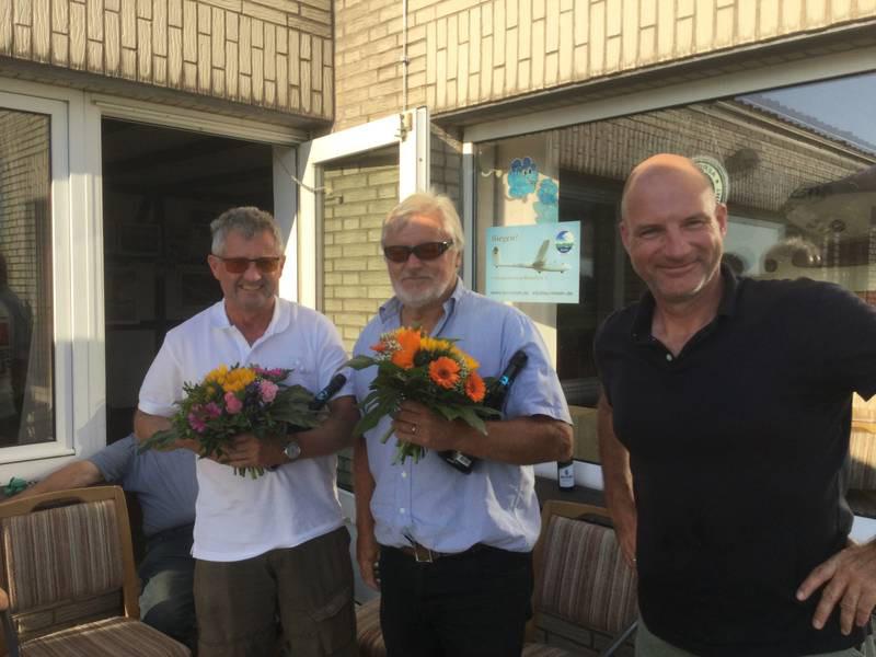 Von links: Stephan Beck, Reinhard Schramme und Karsten Fahrenkamp (1. Vorsitzender des LSV Rinteln). (Foto: privat)