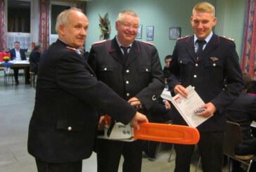 Beförderungen und Ehrungen bei der Feuerwehr Hohenrode
