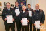 365 Tage rund um die Uhr bereit: Jahreshauptversammlung der Feuerwehr Uchtdorf