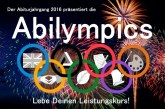 Die Spiele beginnen: Abikulturabend am 12. Februar im Ernestinum