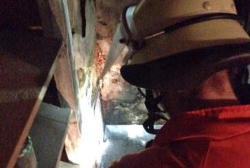 Schornsteinbrand: Feuerwehreinsatz in Goldbeck