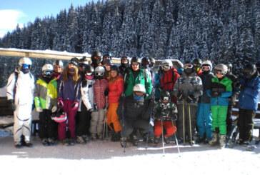 Schüler aus Rinteln und Hessisch Oldendorf bei Schnee und Minusgraden auf Skipisten in Südtirol