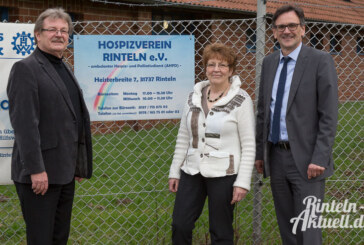 """15 Jahre Hospizverein Rinteln: """"Gemeinsam ein Zeichen setzen"""""""