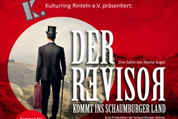 Der Revisor kommt am 27.2. ins Schaumburger Land