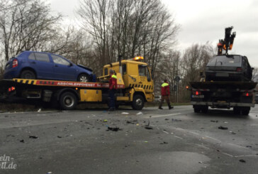 3 Verletzte bei Unfall auf Extertalstraße (L435)
