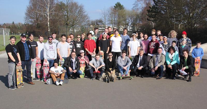 01 rintelnaktuell oster skatepark schulzentrum aktion burgfeldsweide