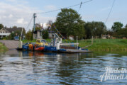 Wasserstand zu niedrig: Weserfähre Großenwieden hat Betrieb eingestellt