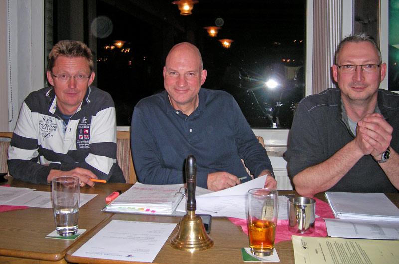 Der Vorstand des LSV (von links): Willi Wielage, Karsten Fahrenkamp und Ulrich Kaiser (Foto: privat)