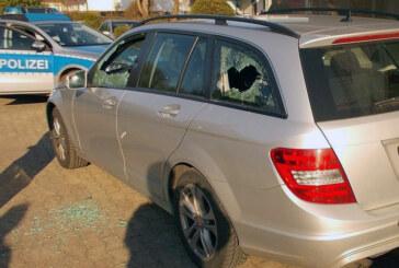 Mercedes und VW in Eisbergen und Veltheim demoliert