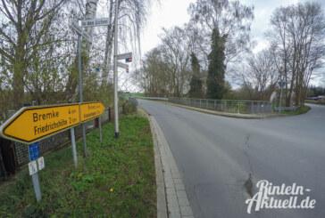 Uchtdorf: Brückenarbeiten auf der Kreisstraße 78 ab Montag
