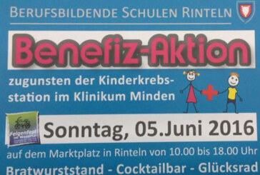 Benefiz-Aktion der BBS Rinteln zugunsten Kinderkrebsstation
