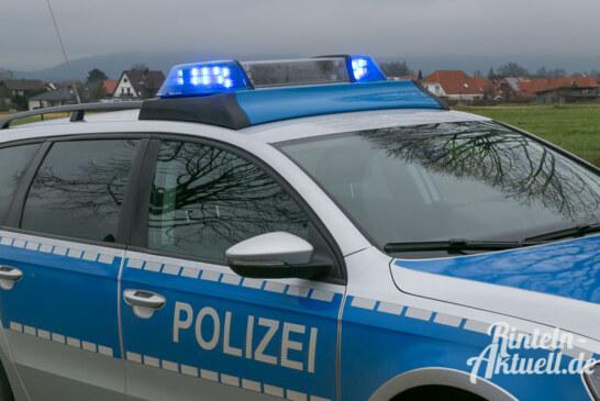 Aus dem Polizeibericht: Auto mit Farbe beschmiert / Spritztour gescheitert / Unfallflucht auf Parkplatz