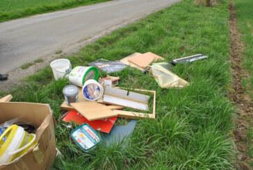 Illegale Müllentsorgung zwischen Westendorf und Ahe
