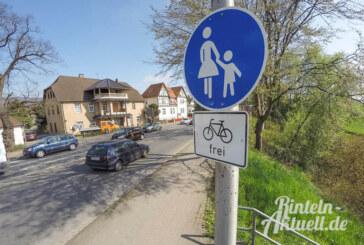 Straße, Schritttempo oder Schieben: Radfahrer haben die Wahl