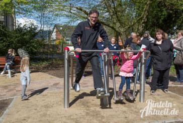 Generationenplatz im Kapellenwall Rinteln offiziell eröffnet