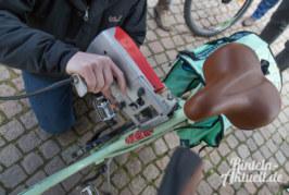 Gegen Diebstahl: Polizei Rinteln führt Codierung von Fahrrädern durch