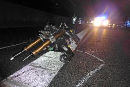 Schwerer Unfall auf A2: Motorradfahrer (54) tödlich verunglückt