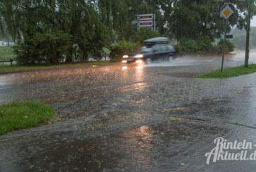 Wetterdienst: Warnung vor schwerem Gewitter für Landkreis Schaumburg
