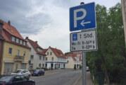Parken in Seetorstraße auf eine Stunde beschränkt