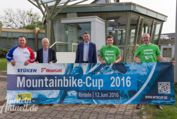 Jetzt anmelden: Stüken WeserGold Mountainbike-Cup am 12. Juni in Rinteln