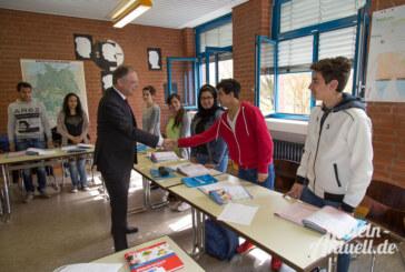 Ministerpräsident Weil besucht die Berufsbildenden Schulen Rinteln