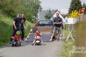 2. Bobby-Car-Rennen lockte bei bestem Wetter und toller Unterhaltung nach Steinbergen