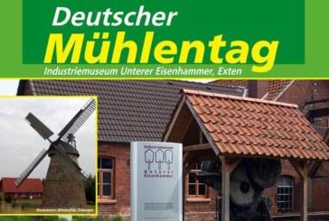 23. Deutscher Mühlentag am Pfingstmontag