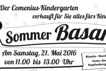 Secondhand-Basar im Comenius-Kindergarten