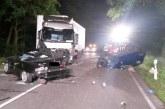 B482 bei Petershagen: Vier Tote bei schwerem Verkehrsunfall