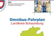 Fahrplanbuch für den Landkreis Schaumburg ab sofort erhältlich