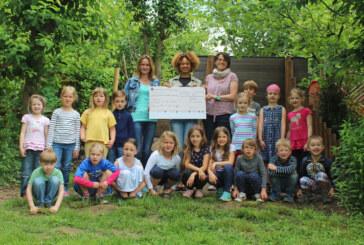 """187 Euro aus Taschenverkauf von Kita-Kindern für """"Plant for the planet"""""""