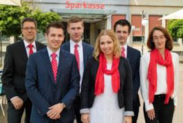 Ausbildungs-Abschluss bei der Sparkasse Schaumburg