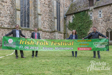 19. Irish-Folk Festival im Kloster Möllenbeck