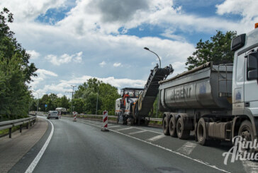 B 238: Sanierung der Bundesstraße hat begonnen