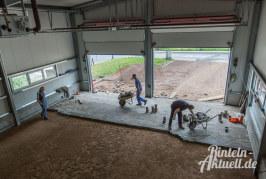 Stein auf Stein: Feuerwehrgerätehaus Todenmann nähert sich der Fertigstellung