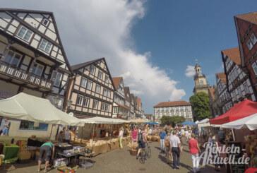 Gutes aus der Region beim Rintelner Bauernmarkt / Verkaufsoffener Sonntag und Felgenfest