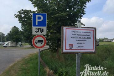 Rinteln 777: Wo können Besucher parken?