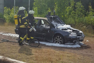 Steinbergen: Skoda Octavia brennt aus