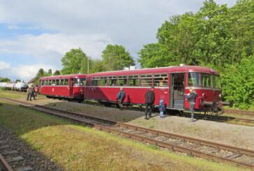"""Der """"Schienenbus"""" fährt wieder am 17. Juli"""