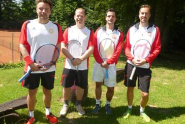 """Neues Team-Outfit für Herren 30 im Tennisverein """"Rot-Weiß Rinteln"""""""