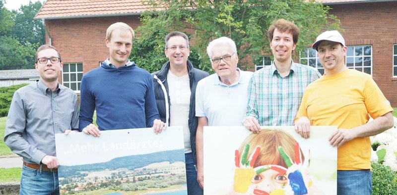 CDU-Vorstandsmitglieder-Malte-Frost,-Dr.-Joachim-v.-Meien,-Friedrich-Wilhelm-Rauch,-Dieter-Edler,-Matthias-Wehrung-und-Veit-Rauch