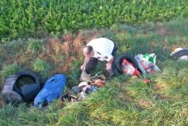 Illegale Müllentsorgung zwischen Hohenrode und Rumbeck
