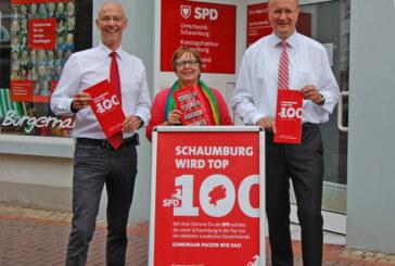 """""""Schaumburg soll in die Top 100 der deutschen Landkreise"""""""