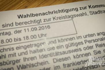 Infos zur Kommunalwahl am 11. September 2016