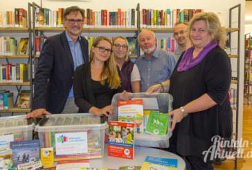 Willkommen in der Bibliothek: Sprachlernpakete für die Integrationsarbeit bereitgestellt