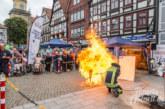 Feuerwehr zum Anfassen: Ein lehrreicher Brandschutztag auf dem Rintelner Marktplatz