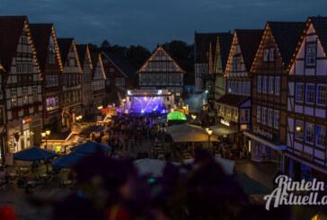 Rintelner Altstadtfest vom 10. bis 12. August: Die Open-Air-Party im Herzen der Stadt