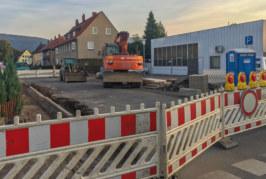 Nordstadt-Bauarbeiten in der Krönerstraße angekommen