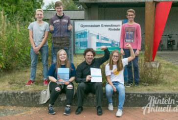 1. Platz für Ruderriege des Gymnasiums Ernestinum in Rinteln